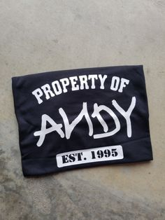 Property of andy shirt, toy story shirt ideas, matching toy story Cute Disney Shirts, Matching Disney Shirts, Disney World Shirts, Disney Shirts For Family, Disney Tees, Disney Diy, Disney Honeymoon, Disney Vacations, Disney Vacation Shirts