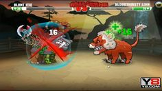 Mutant Fighting Cup 2 (Africa Cup 1) Blunt Axe VS Bloodthirsty Lion (Dog Part 21)