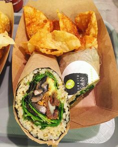 Why the Sushi Burrito is a Hybrid Food That Works