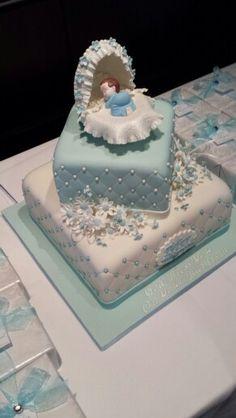 Baptism cake #cake #boy #baptism