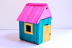 How to Build a Popsicle House -- via wikiHow.com