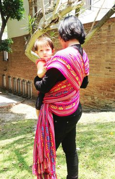 Baby wrap carrier Mexican