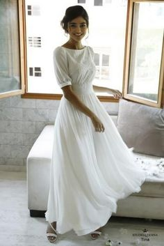 Modest Whispers-Modest wedding gowns - Studio Levana - Couture Wedding Gowns - - Modest wedding gowns 2016 tina Source by annkol Floral Wedding Gown, Modest Wedding Gowns, Couture Wedding Gowns, 2016 Wedding Dresses, Bridal Outfits, Modest Dresses, Pretty Dresses, Bridal Gowns, Dresses 2016