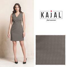 kajal  kajalmoda  dress  abito  corto  grey  grigio  quadri f03f0936e09