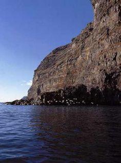 Acantilados de Tijarafe. La Palma. Islas Canarias