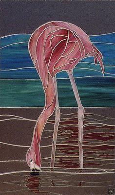 Pink Flamingo (mirror) | Claire Fairweather | Flickr