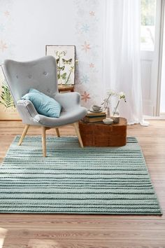 Sweet Home Kollektion By Loom In Bloom 150 X 80 X 3 Cm Ordentlich Teppich Grün