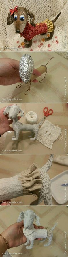 ideas diy paper mache for 2019 Paper Mache Projects, Paper Mache Clay, Paper Mache Sculpture, Paper Mache Crafts, Clay Projects, Clay Crafts, Clay Art, Arts And Crafts, Paper Mache Animals