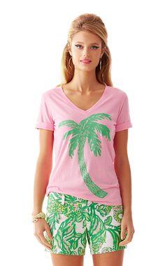 0cb52fe9dade8 Issa V-Neck T-Shirt. Lily PulitzerV ...