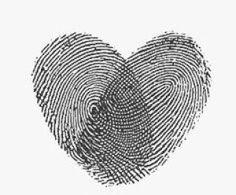 Tattoo - Digitais do seu filho em forma de coração