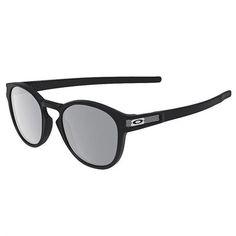 1d85210fcb8fe Óculos de Sol Oakley Latch Machinist Preto com Lente Cinza Espelhada -  OO926510