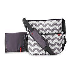 SKIP*HOP® Chevron Duo Diaper Bag