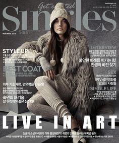 nice Katryn Kruger por Hong Jang Hyun para Singles Korea Novembro 2014  [Fashion]