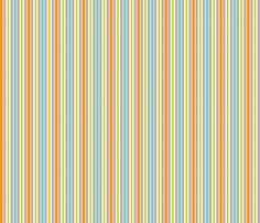 What the Hoot Stripe fabric by bzbdesigner on Spoonflower - custom fabric