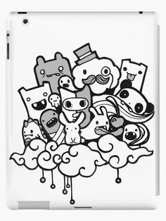 Cool graffiti monster characters - quotes of the day Doodle Art Letters, Cute Doodle Art, Doodle Art Designs, Doodle Art Drawing, Doodle Art Journals, Doodle Patterns, Vexx Art, Op Art, Doodle Monster