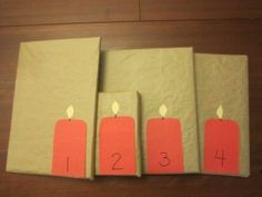 Advent calendar of books
