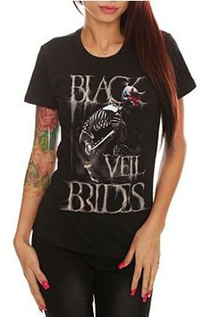 T-Shirts | Clothing  Black Veil Brides at Hot Topic   Omfg need!!!