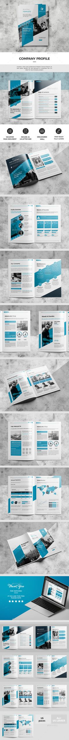 Corporate Business Plan Design Template - Catalogs Brochures Design Template InDesign INDD. Download here: https://graphicriver.net/item/business-plan/19398900?ref=yinkira