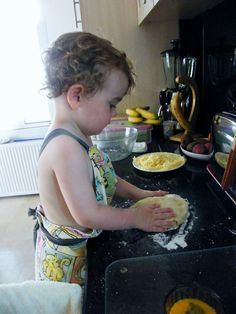 Cheese scones, so easy, your toddler can make them.