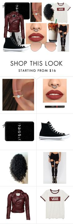 """Unbenannt #211"" by mariiia-hale on Polyvore featuring Mode, Casetify, Converse, Vans und Ray-Ban"