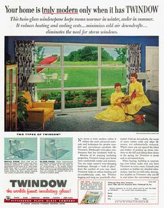 Remarkably Retro found my front window!  Now if I could find the house plan.....