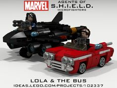 An awesome Marvel Agents of S.H.I.E.L.D project on Lego Ideas. To make this a reality, it needs supporters, sign up to the site and click the support button, if you're a fan of Coulson, a fan of May, a fan of the show, or you just miss the Bus...