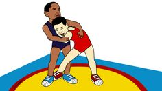 Barack Obama, Xi Jinping - illustration @ Stina Tuominen