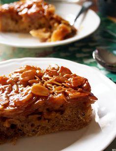 Kaakao kermavaahdolla: ♥ Omenainen kinuski-toscapiirakka