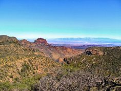 Big Bend Chisos Mountains – Looking down on the Chihuahuan Desert after getting to the top of the Chisos Mountains - The Best Hikes of 2014 by Travel Bloggers