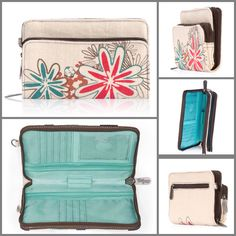 Thirty-One's Free to Be Wallet. Check out the new summer design! This is my favorite wallet Thirty One Party, My Thirty One, Thirty One Bags, Thirty One Gifts, Thirty One Business, Thirty One Consultant, One Summer, Summer 2014, 31 Gifts