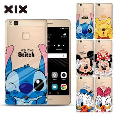 For coque Huawei P9 lite case Mickey Kiss hard PC cover for fundas Huawei P8 lite case new arrivals for Huawei P9 lite P8 lite
