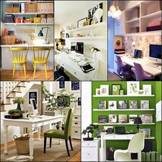 Home Office Design Ideas 12 - Plenty of Home Office Design Ideas for you to Try – Home Decorating Ideas, Kitchen Designs, Paint Colors @ Jazzyliving.com