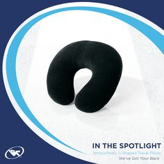 Take the Tempur-Pedic U-Shaped Travel Pillow with you on the plane, train, or in your car for proper next support wherever you go.