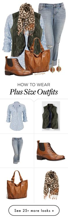 """Curvy Woman - Plus Size"" by ginothersyde on Polyvore featuring Old Navy, maurices, Lands' End, BP., ALDO and 330"