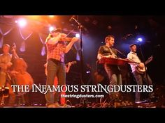 ▶ THE INFAMOUS STRINGDUSTERS - Mountain Town - live @ The Ogden - YouTube