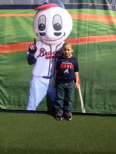 Ashton & Homer April 11, 2015 Home Opener