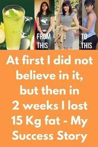 At first I did not believe in it but then in 2 weeks I lost 15 Kg fat - My Success Story Honestly I am really happy to get such awesome results. At first I didnt believed that doing such a simple thing can get me good results but I was wrong. This rem Weight Loss Plans, Weight Loss Program, Best Weight Loss, Healthy Weight Loss, Burn Belly Fat, Lose Belly, Belly Fat Burner, Lose Weight Naturally, How To Lose Weight Fast