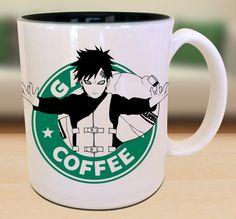 Gaara X Naruto X Starbucks Anime Manga by EternalRivalDesigns...mug