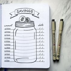 10 Bullet Journal Money Trackers To Manage Your Finances - : LOVE the. - 10 Bullet Journal Money Trackers To Manage Your Finances – : LOVE these! 10 Bullet J - Bullet Journal Tracker, Bullet Journal School, Bullet Journal 2019, Bullet Journal Notebook, Bullet Journal Spread, Bullet Journal Inspiration, Bullet Journal How To Start A Simple, Bullet Journal Layout Ideas, Bulletin Journal Ideas