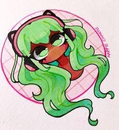 Easy Doodles Drawings, Girly Drawings, Anime Girl Drawings, Art Drawings Sketches Simple, Anime Art Girl, Cartoon Drawings, Cute Art Styles, Cartoon Art Styles, Cute Drawing Images