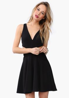 athena cut out dress - necessary clothing