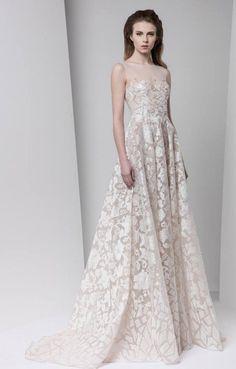 Stylish Tony Ward wedding dresses