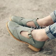 Novo estilo feminino Coreano sapatos oxfords estilo Britânico esculpidas sapatos de couro casuais de alta qualidade mulheres sapatos # C072