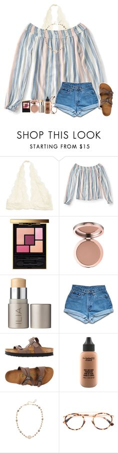 """That's a song for another time"" by amaya-leigh ❤ liked on Polyvore featuring Aéropostale, Yves Saint Laurent, Ilia, Jordache, Birkenstock, MAC Cosmetics, Ela Rae and Mykita"