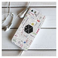 EXO Lyrics - iPhone 6 Case, iPhone Case, iPhone Case, plus Samsung Galaxy Edge Cases - Shadeyou - Personalized iPhone and Samsung Cases Exo Phone Case, Kpop Phone Cases, Iphone 5c Cases, 5s Cases, Iphone 5s, Samsung Cases, Tech Accessories, Cell Phone Accessories, White Iphone