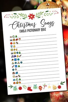 6 In One Pack, Christmas Party Games, Christmas Songs Emoji Pictionary Quiz, Christmas Song Quiz, Christmas Printables Christmas Movie Trivia, Christmas Games For Family, Christmas Party Games, Christmas Fun, Indoor Birthday Games, Birthday Games For Adults, Adult Birthday Party, Emoji Games, Emoji Quiz