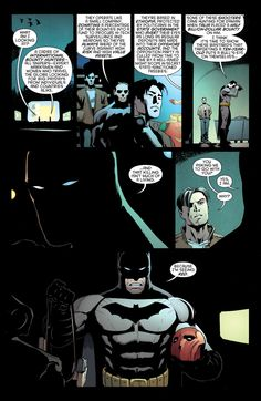 Batman and Robin - July 2013. Awe Jaybird and Bats teaming up. How cute. ❤️ makes me really sad that I didn't get into comics until last year and haven't read Robin. Also all the other comics he's been in other then Redhood and the Outlaws, Redhood and Arsenal, Redhood the lost days, Batman Under the Redhood, Teen Titans, Batman and Robin Eternal, and Batman Eternal
