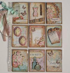 Vintage/Shabby Pocket Letter Page - Scrapbook.com