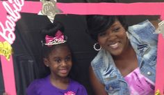 Us at her 5th birthday party