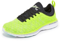 Fly girl: Zip past the competition in the built-for-speed APL TechLoom Phantom. Bonus points for its ultra-bright upper. Athletic Wear, Athletic Shoes, Apl Shoes, Workout Gear, Workouts, Shoes 2016, Cross Trainer, Best Running Shoes, Sport Wear